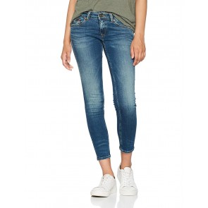Hilfiger Denim DW0DW02399, Jeans Skinny Donna, Blu (Industrial Blue Stretch 911), W27/L32