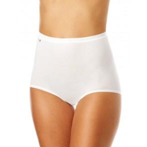 Sloggi Basic+ Slip Maxi-Mutande Donna Bianco 44