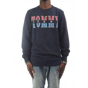 Tommy Hilfiger DM0DM04461080 Felpe Uomo Blu S