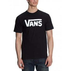 Vans Classic, T-Shirt Manica Corta  Uomo, Nero (Black/white), X-Small