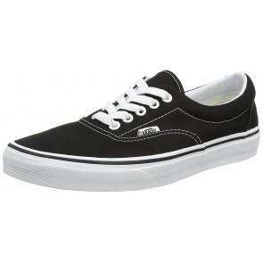 Vans Era Classic Canvas, Sneaker a Collo Basso Unisex - Adulto, Nero, 38 EU (5 UK)
