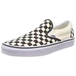 Vans U Classic Slip-on, Sneaker Unisex Adulto, Bianco (Black/White/Checker White), 38