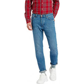 Wrangler Slider Jeans Tapered, Blu (Blue Beat 39t), W32/L30 (Taglia Produttore: 30/32) Uomo