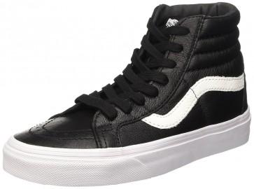 Vans U Sk8-Hi Reissue Leather, Sneaker Unisex Adulto, Nero (Premium Leather/Black), 38 Eu