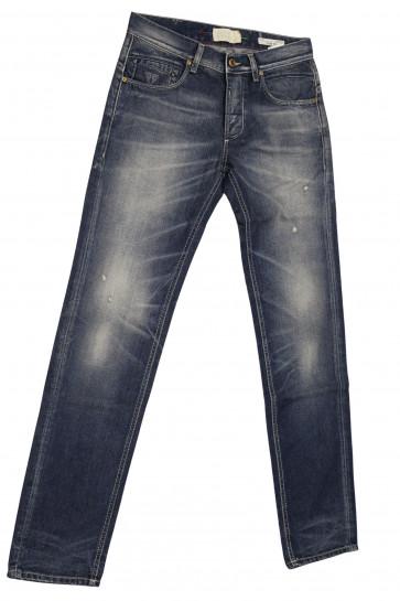 FIFTY FOUR jeans uomo slim art Caden 00 J761 tg 38/52 Blu whashed