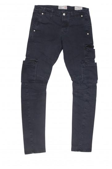 FIFTY FOUR pantalone uomo slim art Manik 00 C021 tg 38/52 Blu