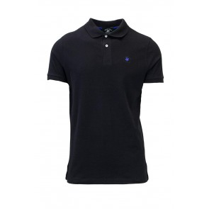 BEVERLY HILLS POLO CLUB T-SHIRT UOMO POLO IN PIQUET BHPC3800 REGULAR m nero