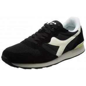 Diadora Camaro, Sneakers Unisex - Adulto, Nero (Nero/Bianco Sospiro), 42.5 EU