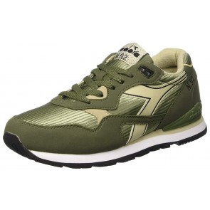Diadora N-92 Scarpe Low-Top, Unisex adulto, Verde (Olivine Green Tidal Foam), 42
