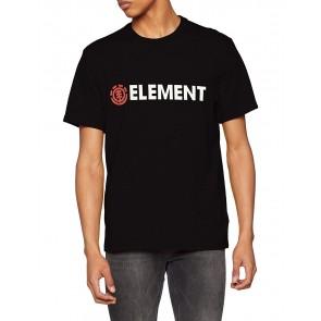 Element Blazin SS, Maglietta Maniche Corte Uomo, Nero, L