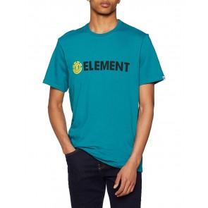 Element Blazin SS, Maglietta Maniche Corte Uomo, Turchese, S