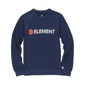 Element Uomo Blazin Felpa/ Pullover Taglia: S Colore: Eclipse Navy