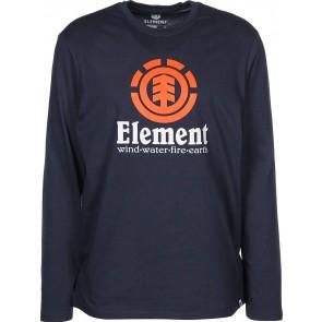 Element Vertical Maglia Manica Lunga Eclipse Navy