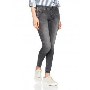 Hilfiger Denim Mid Rise Skinny Nora 7/8 SELGST, Jeans Donna, Grigio (Seattle Light Grey Stretch 911), W28/L32