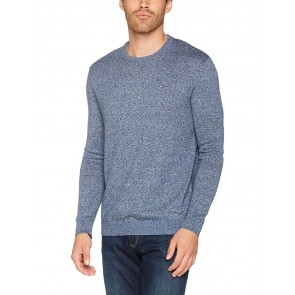 Hilfiger Denim Thdm Basic CN Sweater 11, Maglia Uomo, Blu (Black Iris), Medium