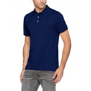 Hilfiger Denim Tjm Basic Polo S/s 1, Uomo, Blu (Blue Depths 430), Large