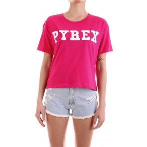 Pyrex 34222 T-Shirt Manica Corta Donna Fucsia M