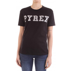 Pyrex Donna T-Shirt in Jersey Logo Centrale MOD. XS