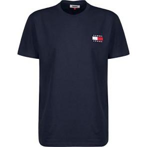 Tommy Jeans Badge T-Shirt Black Iris