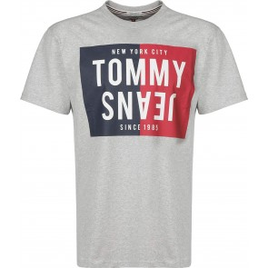 Tommy Jeans Spöit Box T-Shirt lt Grey Htr