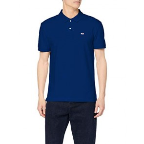 Tommy Jeans Tjm Tommy Classics Solid Polo, Blau (Limoges 434), S Uomo