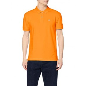 Tommy Jeans Tjm Tommy Classics Solid Polo, Gelb (Radiant Yellow 704), M Uomo