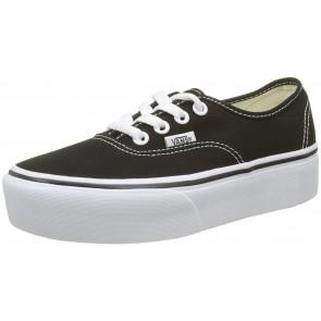 Vans Authentic Platform 2.0, Sneaker Donna, Nero (Black Blk), 36 EU
