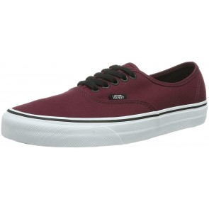 Vans Authentic, Sneaker Unisex – Adulto, Rosso (Port Royale/Black), 36 EU
