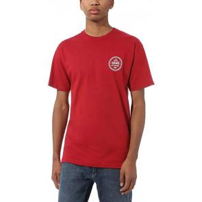 Vans Checker 66 SS T-Shirt, Cardinale, S Uomo