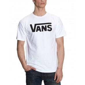 Vans Classic, T-Shirt Manica Corta  Uomo, Bianco (White/black), X-Small