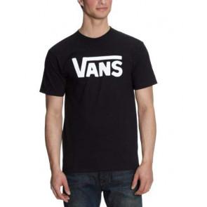 Vans Classic, T-Shirt Manica Corta  Uomo, Nero (Black/white), M