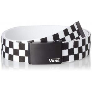 Vans Deppster Ii Web Belt Cintura, Nero (Black/white), Taglia unica Uomo