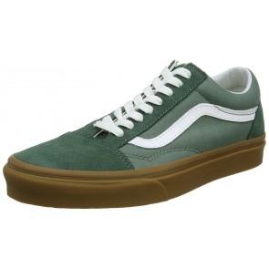 Vans Old Skool, Sneaker Unisex – Adulto, Verde (Duck Green/Gum Q9v), 40 EU