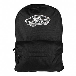 Vans Realm Backpack Zaino Casual, 42 cm, 22 liters, Nero (BLACK)