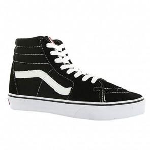 Vans Sk8-Hi, Sneakers Alti Unisex Adulto, Nero (Black/White), 38 EU