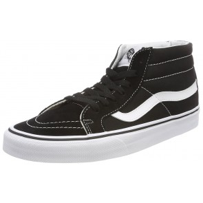 Vans Sk8-mid Reissue, Sneaker a Collo Alto Unisex-Adulto, Nero (Black/True White 6bt), 42 EU