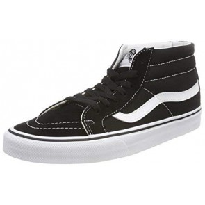 Vans Sk8-mid Reissue, Sneaker a Collo Alto Unisex-Adulto, Nero (Black/True White 6bt), 45 EU