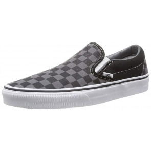 Vans U Classic Slip-on, Sneaker Unisex - Adulto, Nero (Black/Pewter Ch), 43