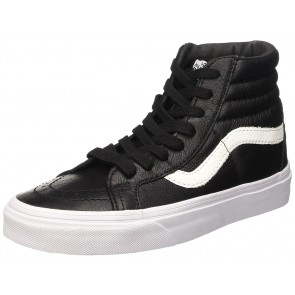 Vans U Sk8-Hi Reissue Leather, Sneaker Unisex Adulto, Nero (Premium Leather/Black), 38 Eu