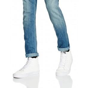 Vans - U Sk8-Hi Reissue Leather, Sneakers unisex, Bianco (Blanc (Premium Leather/True White)), 39 EU
