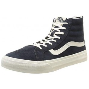 Vans - U Sk8-Hi Slim Zip Scotchgard, Sneakers unisex, Blu (Scotchgard/Blue Graphite), 36