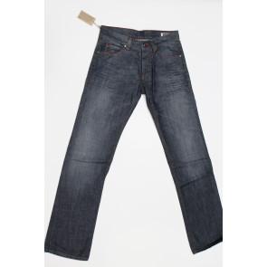 Jeans pantalone uomo rifle 90001-38NCR blu denim tg 30 (46) chiusura bottoni