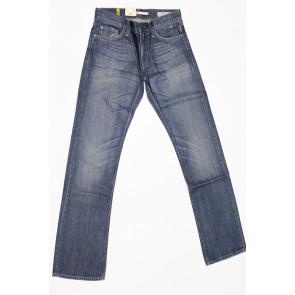 Jeans pantalone uomo Meltin POT MARK D1066UK420 col blu denim, tg 31 (45) chiusura zip