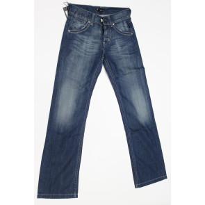 Jeans pantalone uomo Meltin POT MUZIO D1201UB347 blu denim elasticizzato tg 28 (42) chiusura zip