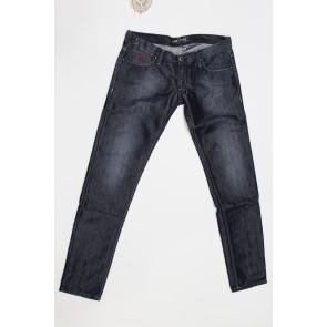 Jeans pantalone donna Construction Zero ALEXIANE LN200 1322 blu denim scuro,elasticizzato, tg 33 (47) chiusura zip