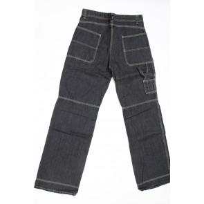 Jeans pantalone uomo rifle 80070-44E03 nero denim chiaro,elasticizzato tg 34 chiusura zip