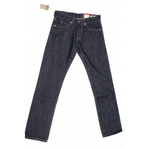 Jeans pantalone uomo Rifle 90001-66P01 blu denim scuro, tg 31 (45) chiusura bottoni