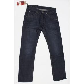 Jeans pantalone uomo Rifle 90761-99QKR blu denim scuro,elasticizzato, tg 32 (46), chiusura bottoni