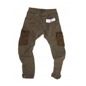 LOFT 1 pantalone uomo Mod Courmayer tg 52 beige scuro