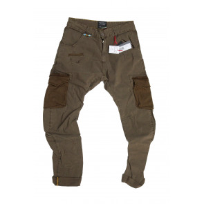 LOFT 1 pantalone uomo Mod Courmayer tg 48 beige scuro